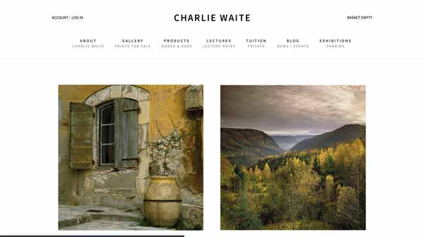 Charlie Waite Photographer Official Website